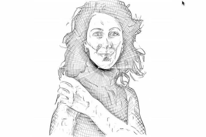 Sketch Effects in Studio Artist