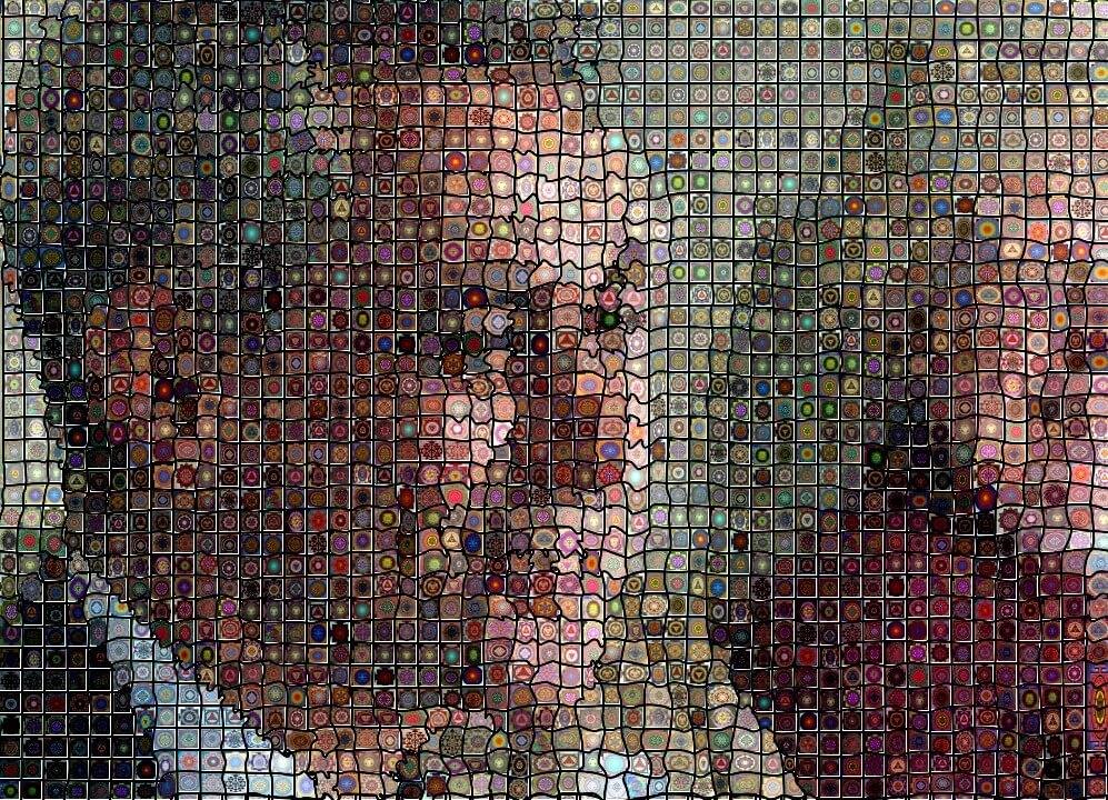 Windows 7 Key Generator >> Pantograph Deformed Photo Mosaic Tilings | Synthetik Software