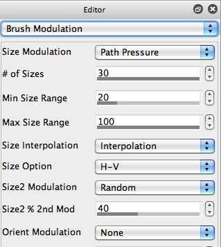 Brush Modulation