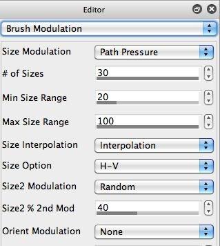 Brush Modulation