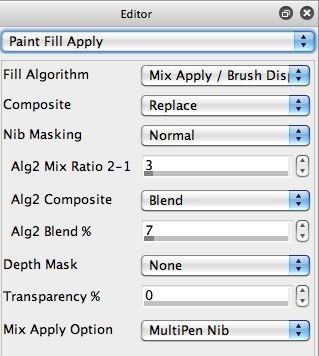 Paint Fill Apply