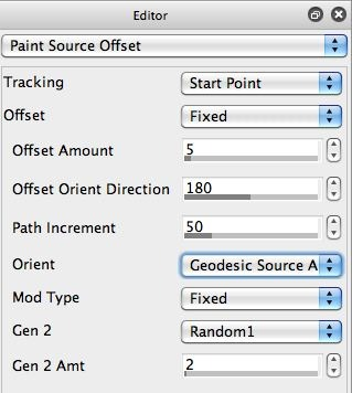 Paint Source Offset