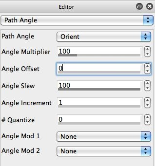 Screen Shote of Path Angle