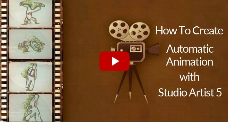 How to Auto Rotoscope with Studio Artist